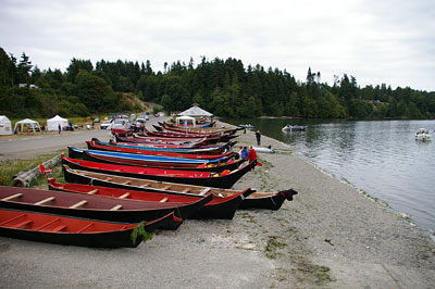 Point Julia canoes