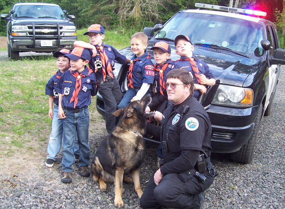 Police, K9 and kids