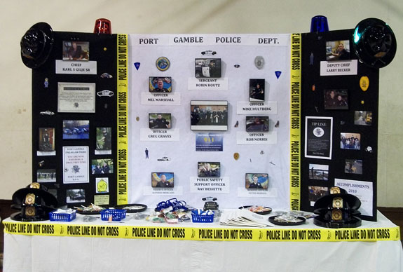 PGST Public Safety Department Display