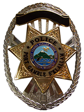 Port Gamble S'Klallam Tribe Police Badge