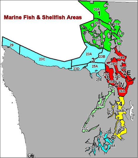 Marine Fish and Shellfish Areas