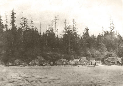 S'Klallam village at Point Julia